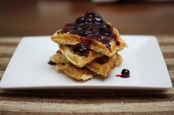 Whole Grain Waffles from Optimal Nutrition and Health