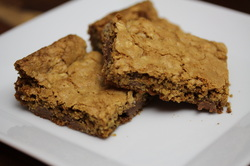Whole Grain Chocolate Chip Bars from Optimal Nutrition and Health