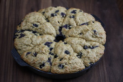 Banana Blueberry Scones from Optimal Nutrition and Health