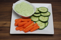 Herbed Greek Yogurt Spinach Dip from Optimal Nutrition and Health