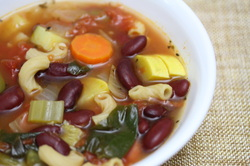 Minestrone Soup from Optimal Nutrition and Health